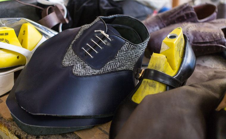 THE BEAUTY OF BESPOKE SHOES