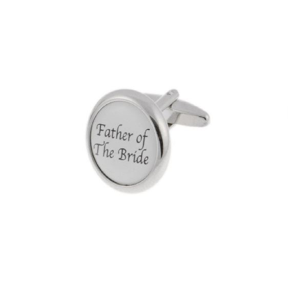 Father of The Bride Base Metal Cufflinks