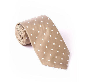 Load image into Gallery viewer, Fawn Spotted Woven Tie
