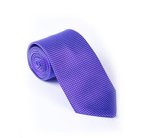 Load image into Gallery viewer, Purple & Lilac Fancy Woven Tie