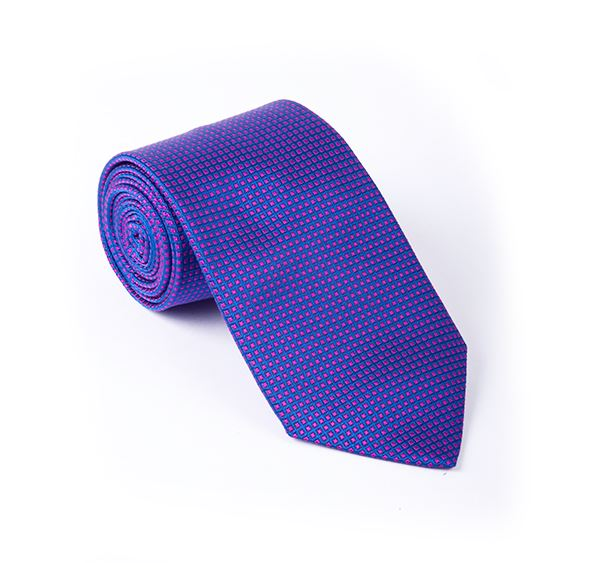Purple & Pink Fancy Woven Tie