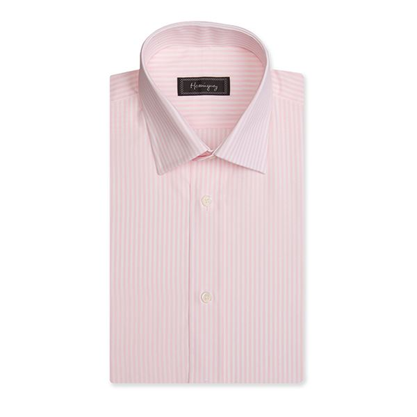 Slim Fit Men's Pink Bengal Stripe Shirt