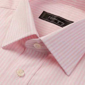 Load image into Gallery viewer, Slim Fit Men's Pink Bengal Stripe Shirt
