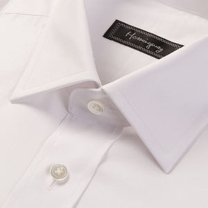 Load image into Gallery viewer, Regular Fit Men's Plain White Shirt