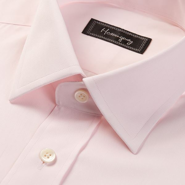Load image into Gallery viewer, Regular Fit Men's Plain Pink Shirt
