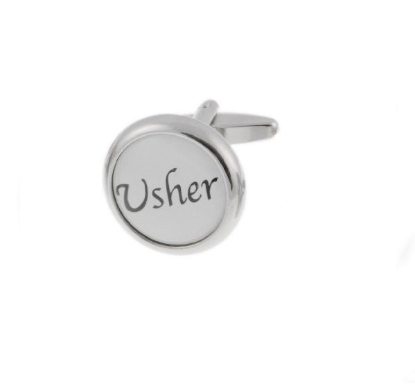 Usher Base Metal Cufflinks