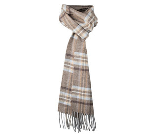 Dents Drybridge Tartan Check Lambswool Scarf