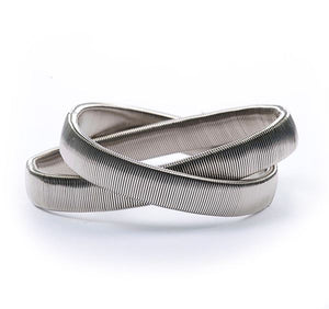 Nickel Plated Armbands (pair boxed)