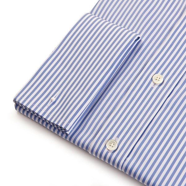 Load image into Gallery viewer, Slim Fit Men's Blue Bengal Stripe Shirt
