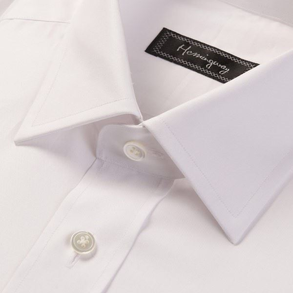 Load image into Gallery viewer, Slim Fit Men's Plain White Shirt