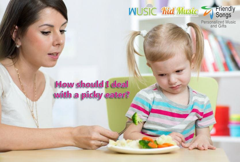 How should I deal with a picky eater?
