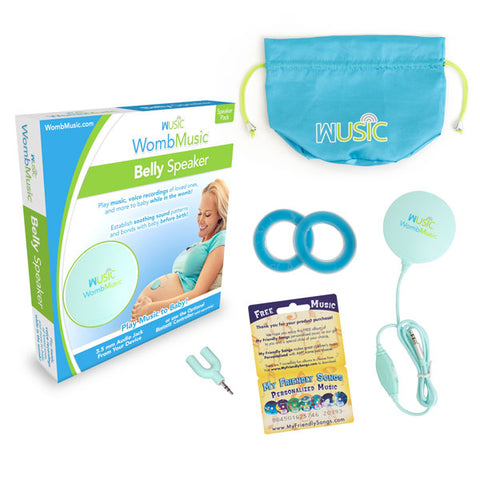 Image of Speaker Pack - Play Music to your Baby with Womb Music Belly Speaker by Wusic
