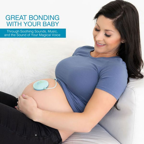 Image of BELLY SPEAKER Pack - Play Music to your Baby with our Womb Music Belly Speaker by Wusic