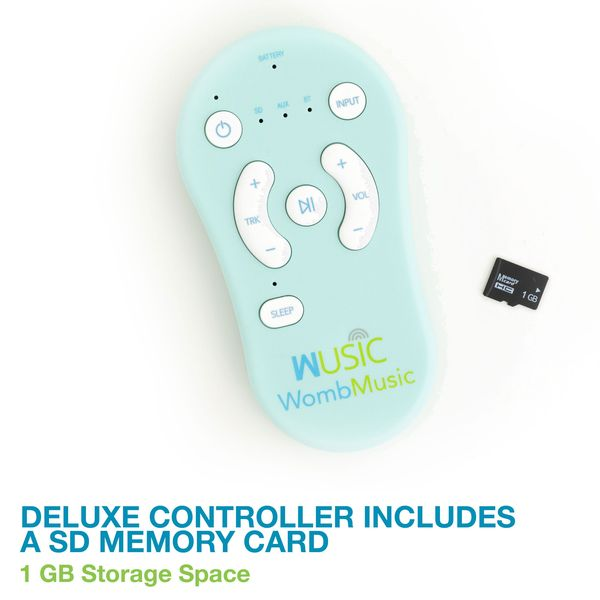 CONTROLLER Pack - Play music to baby with your existing belly speakers using the Womb Music Bluetooth Controller