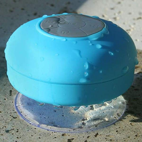 Image of Wusic Waterproof Shower Speaker Blue - Shower Speaker