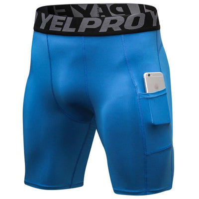 Elasticated Workout Compression Shorts