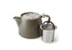 Teapot with Infuser Olive, 18 oz | Artisan Collection Stump