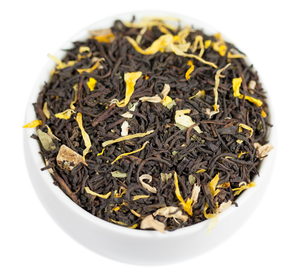 Ginger Peach Black Tea - Loose leaf - Healthy, Bold, Fruity