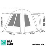 AIR UNIVAN REAR TAILGATE TENT (BACKORDER MARCH-APRIL)