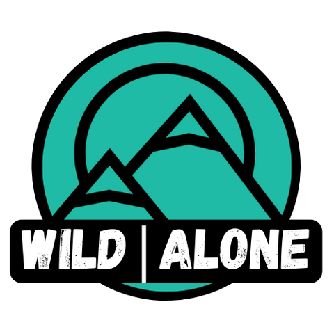 WILD|ALONE STICKER [LOGO REP DIE CUT]