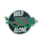 WILD|ALONE STICKER