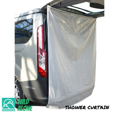 SHOWER CURTAIN (UNIVERSAL FIT)