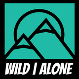WILD|ALONE STICKER [ORIGINAL LOGO SQUARE]