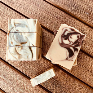 Hand Crafted Soap - Honey Eucalyptus with Oatmeal and Almond Milk Soap