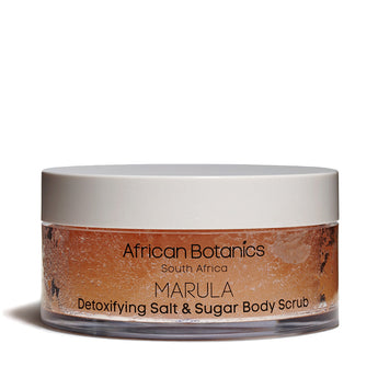 African Botanics - Marula Detoxifying Salt and Sugar Scrub - CAP Beauty