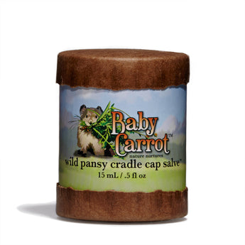 Wild Carrot - Wild Pansy Cradle Cap Salve - CAP Beauty