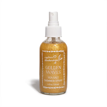 Captain Blankenship - Golden Waves Sea Salt Shimmer Spray - CAP Beauty