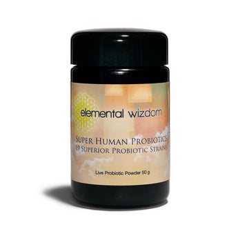 Elemental Wizdom - Super Human Probiotics - CAP Beauty