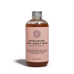 Exfoliating Hair + Scalp Wash