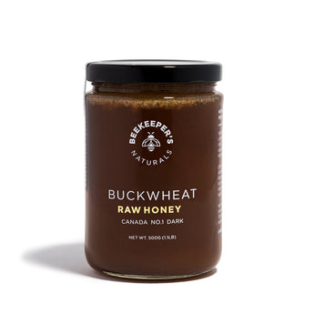 Beekeeper's Naturals - Raw Buckwheat Honey - CAP Beauty