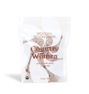WOODEN SPOON HERBS - COUNTRY WOMEN TEA- CAP BEAUTY