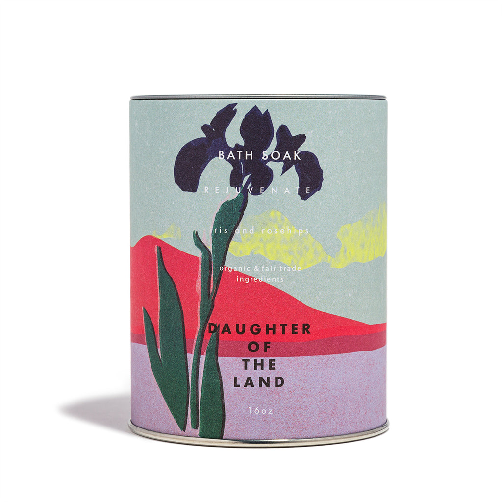 Daughter of the Land - Iris and Rosehips Soak - CAP Beauty