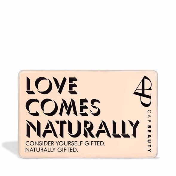 CAP Beauty - Physical Gift Cards - CAP Beauty