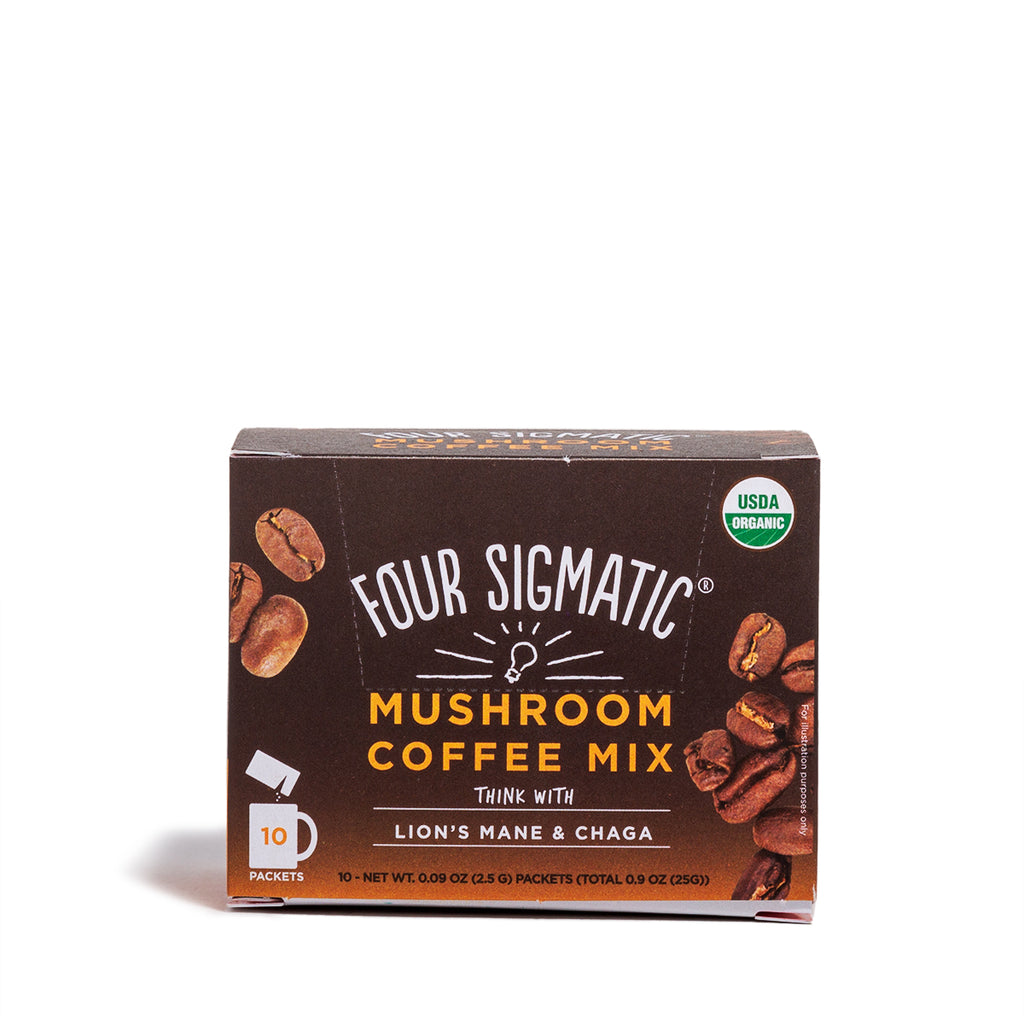 Four Sigmatic - Mushroom Coffee with Lion's Mane & Chaga - CAP Beauty