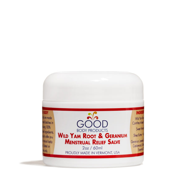 Good Body Products - Wild Yam Root and Geranium Menstrual Relief - CAP Beauty