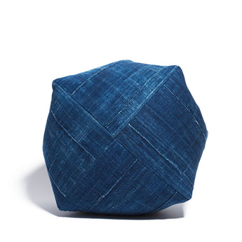 Indigo Cotton Dumpling Meditation Cushion