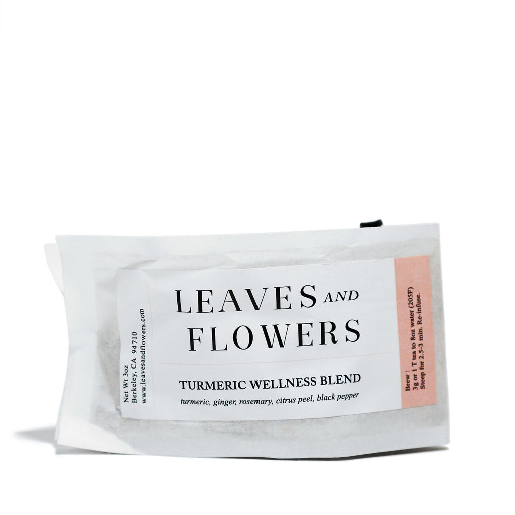 Leaves and Flowers - Turmeric Wellness - CAP Beauty