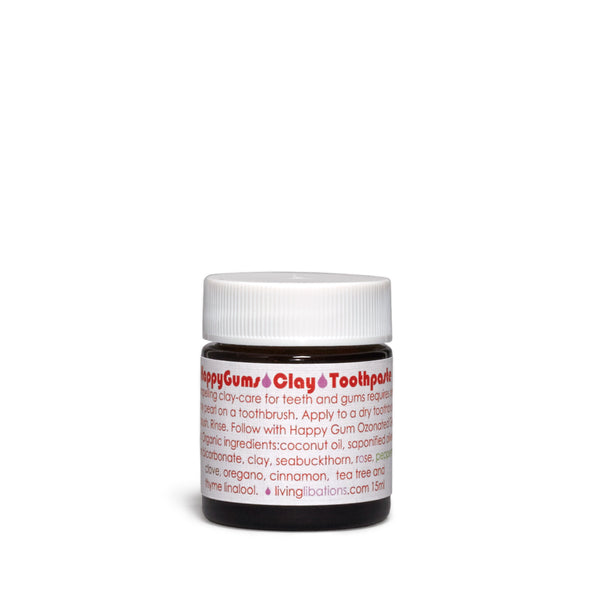 Living Libations - Happy Gums Clay Toothpaste - CAP Beauty