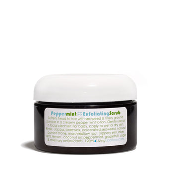 Living Libations - Peppermint Exfoliating Scrub - CAP Beauty
