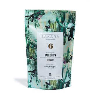 Sakara - Rosemary Kale Chips - CAP Beauty