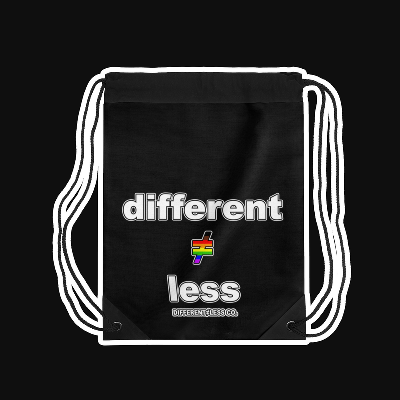 D≠L PRIDE+ Lightweight Drawstring Bag
