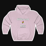 D≠L PRIDE+ Unisex Heavy Blend™ Hooded Sweatshirt