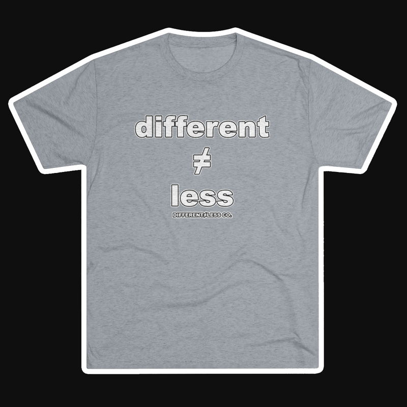 D≠L Original Men's Tri-Blend Crew T-Shirt
