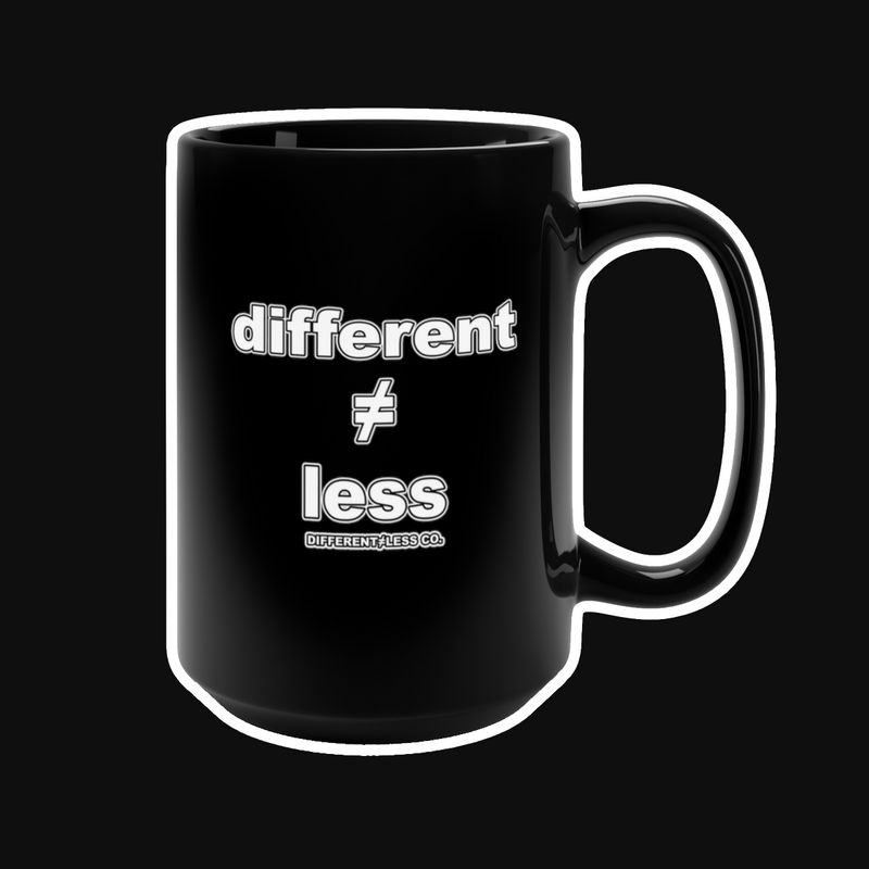 DIFFERENT≠LESS CO. Original v.2 Mug - 15oz