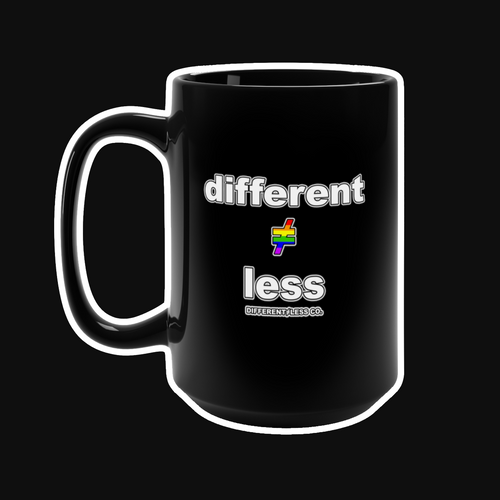 DIFFERENT≠LESS CO. PRIDE Mug - 15oz