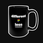 DIFFERENT≠LESS CO. PRIDE+ Mug - 15oz